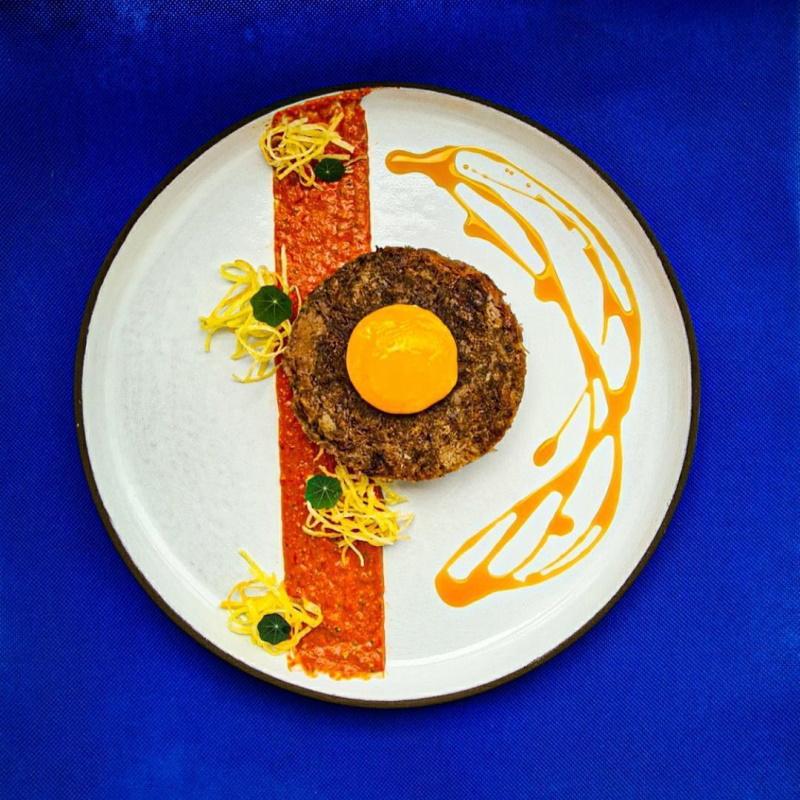 καβουρμάς-με-κρόκο-αυγού-πάπρικα